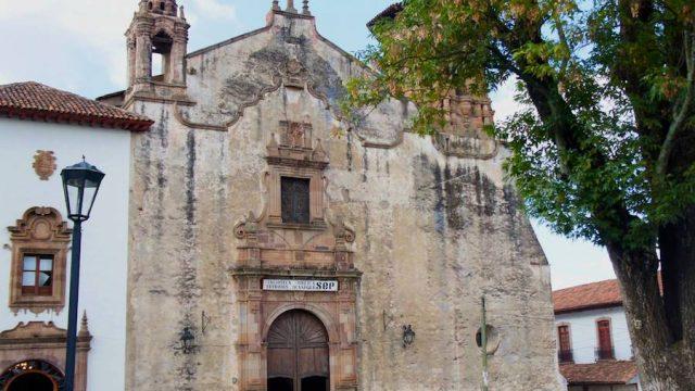 """Ex convento de san Agustín (Biblioteca Pública """"Gertrudis Bocanegra"""")"""