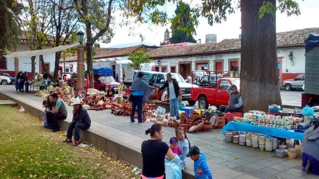 Mercado artesanal de san Francisco
