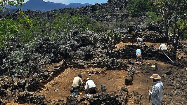 Malpais Prieto Asentamiento Prehispánico